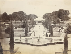 [View in the Lal Bagh, Bangalore.]
